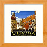 L Lumartos Vintage Verona Poster, modernes Heimdekoration,