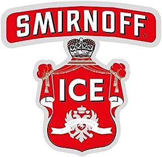 Smirnoff Ice Alcohol Drink Logo - Sticker Graphic - Auto Wall Laptop Cell Truck Sticker - Easy Stick Sticker Graphic