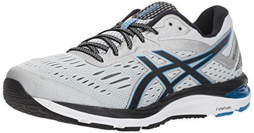 ASICS Men's Gel-Cumulus 20 Running Shoes, 9.5, Glacier Grey/Black