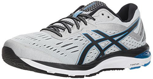ASICS Men's Gel-Cumulus 20 Running Shoes, 7M, Glacier Grey/Black
