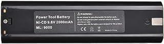 2000mAh oplaadbare batterij met grote capaciteit voor Makita Drill 9.6V snelladende Ni CD-batterij zwart