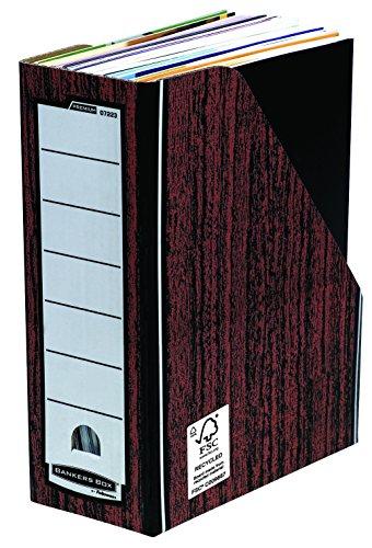 Bankers Box Premium Portariviste, Marrone, Confezione da 10 Pezzi
