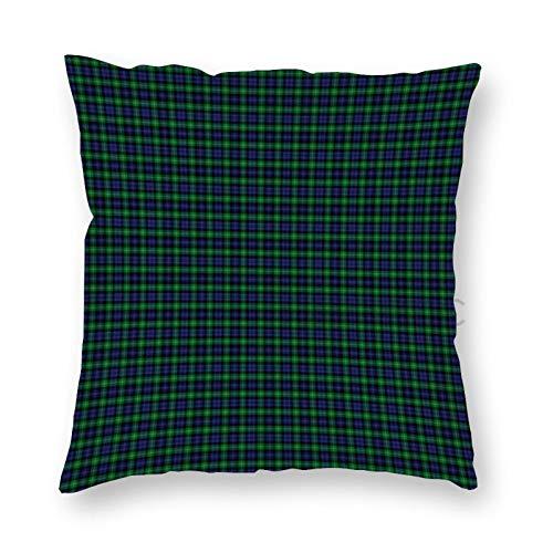 JamirtyRoy1 12 x 12 Inch Pillow Case, Cheape of Torosay Clan Tartan Fabric Decorative Throw Pillow Cover Cushion Case