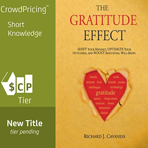 The Gratitude Effect: Shift Your Mindset, Optimize Your Outcomes, and Boost Emotional Well-Being Titelbild