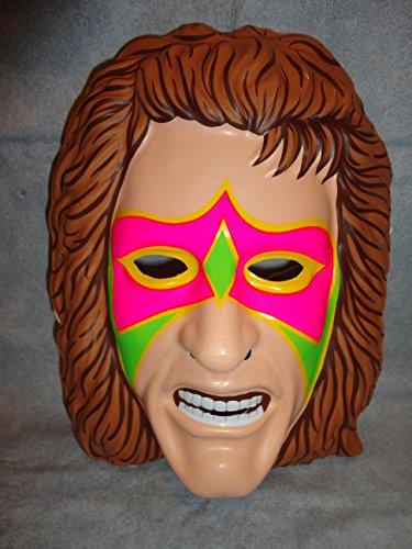 The Ultimate Warrior Wrestler PVC Mask Kid Size Rubies Halloween Dress Up