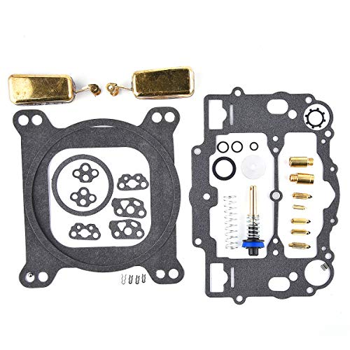 KIPA Carburetor Rebuild Kit For EDELBROCK # 1477 1400 1404 1405 1406 1407 1409 1411 Fits all Automotive 500 600 650 700 750 /& 800 CFM Weber Marine carburetor Mercruiser kit # 809064 Carter 9000 series