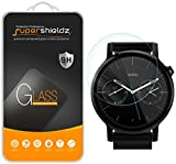 (2 Pack) Supershieldz for Moto 360 42mm (2nd Gen) Tempered Glass Screen Protector, Anti Scratch, Bubble Free