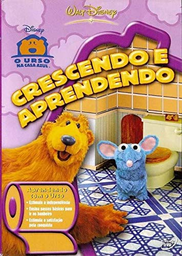 DVD Disney - Crescendo e Aprendendo