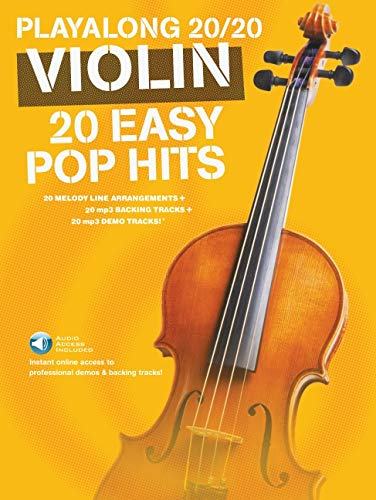 Playalong 20/20 Violin: 20 Easy Pop Hits