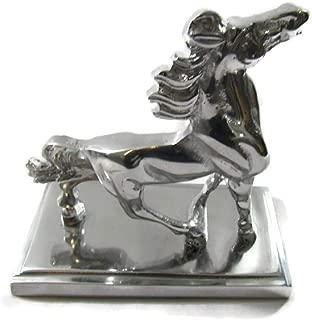 El Relicario de Los Tesoros Solid Mexican Pewter Table Statues Hand CAST & Finished (Small Horse)