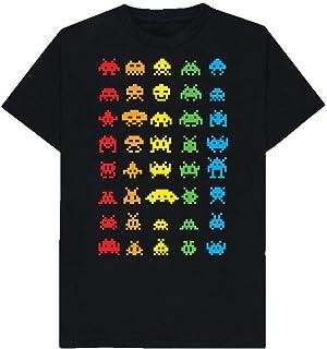 Space Invaders - Retro Video Gaming - Arcade - Geek - Tshirt - Shaw T-Shirts® - Sizes Small to 2XL