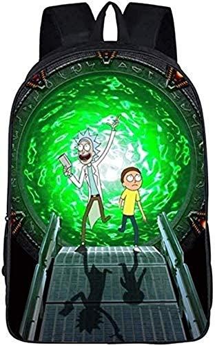 Le cartable de Rick und Morty est pour les enfants, les filles et les enfants à la maternelle, le junior High School convient pour les écoles primaires.