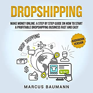 Dropshipping: Make Money Online audiobook cover art