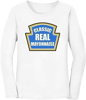 Mayonnaise Funny Mayo Easy Custom Novelty Gift Women Long Sleeve T-Shirt