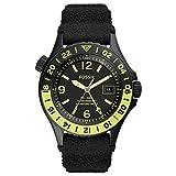 Orologio Fossil Limited Edition FB-GMT Dual-Time con cinturino in silicone nero da...