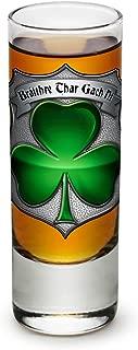 Shot Glasses – Police Officer Gifts for Men or Women – Law Enforcement Shot Glasses – Irish Brotherhood Police Glass Shot Glass with Logo (2 Oz)
