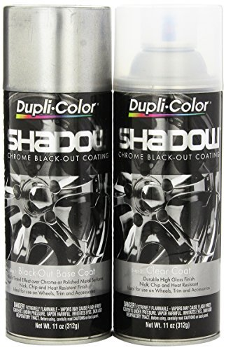 Dupli-Color SHD1000 Shadow Chrome Black-out Coating Kit - 2 Pack