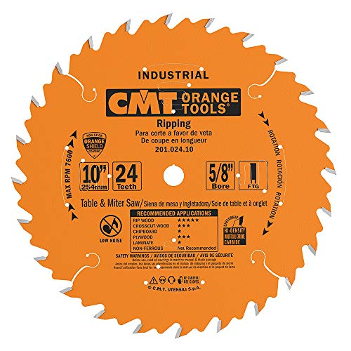 CMT 201.024.10 Industrial Table Ripping Saw Blade