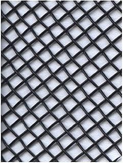 Amaco WireForm Metal Mesh black coated aluminum woven modeler's mesh - 8 mesh 5 ft. roll