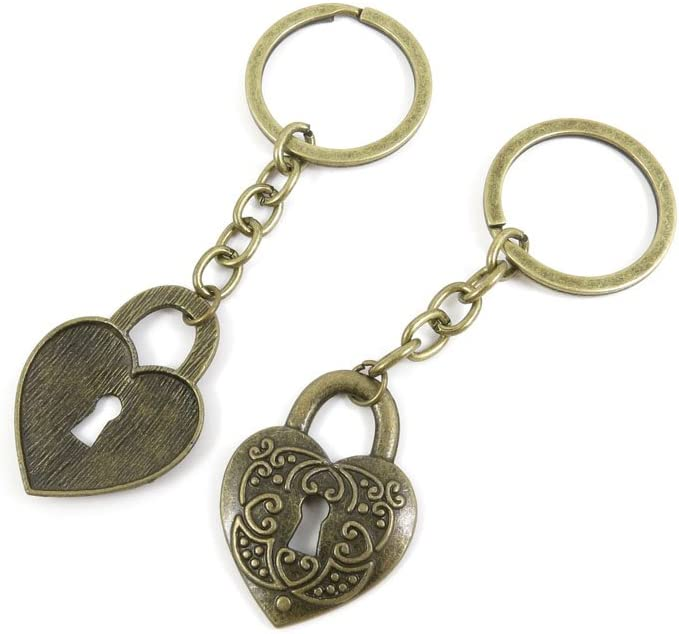30 Fashionable PCS Keyrings Keychains Key Tags Ring Jewelry Findings Chains Brand Cheap Sale Venue