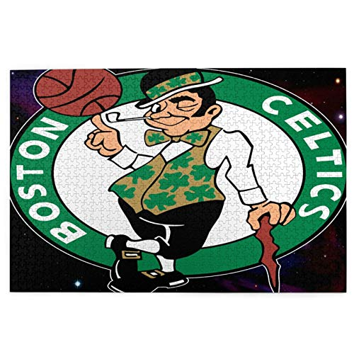 RobertKyles Puzzle 1000 Pieces Boston Basketball Cel-tics 1000 Custom Puzzles for Adults, Boring Nemesis Activities, Puzzle Games, Cartoons