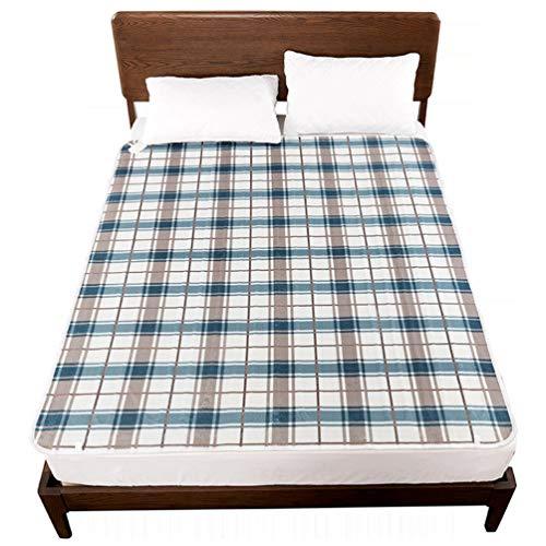 SONNIGPLUS Heizdecke für Einzelbett Doppelbett, Wärmedecke elektrisch, Abschaltautomatik, Überhitzungsschutz, für Familien, Studentenwohnheime,80x150cm