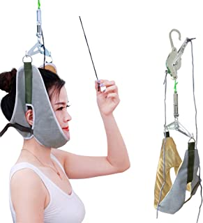 Hammock for Neck, Neck Support, Neck Traction, Portable Cervical Traction Device for Neck And Shoulder Pain, Neck Pain Sup...