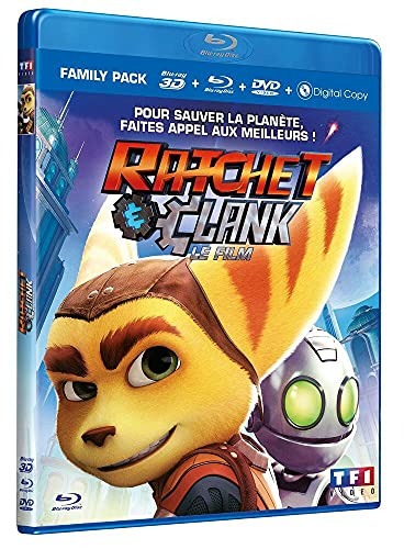 Ratchet & Clank : le film [Blu-ray]