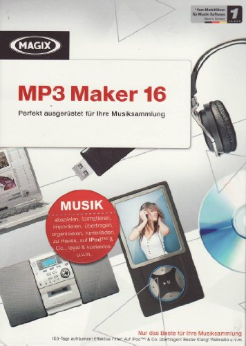 MAGIX MP3 Maker 16 (Minibox)