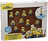 Minions gommoso 10St. 3d, Licenza originale articoli 3d Puzzle Eraser In questo modo è possibile creare il proprio Minion