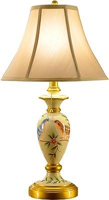 Simple Main Style En Oiseau À Céramique Européenne Lampe Peint Cs La XwOklTPiZu