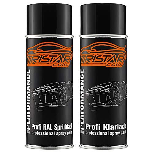 RAL 9001 Cremeweiss und hochglanz Klarlack Spraydose (jew. 400 ml)