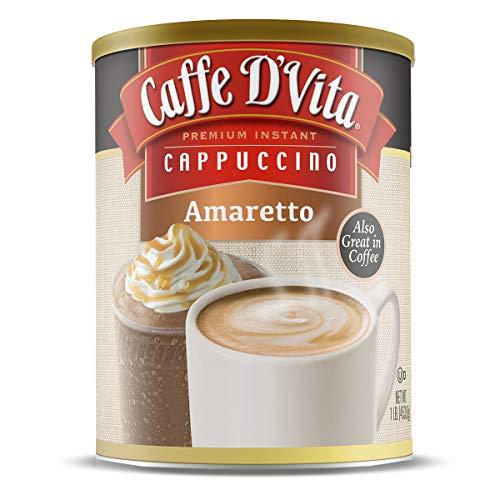 Caffe D'Vita Amaretto Cappuccino, 6 Pack (16 oz)