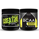 Sinew Nutrition Micronised Creatine Monohydrate - 300g and Instantized BCAA 2:1:1, 200gm