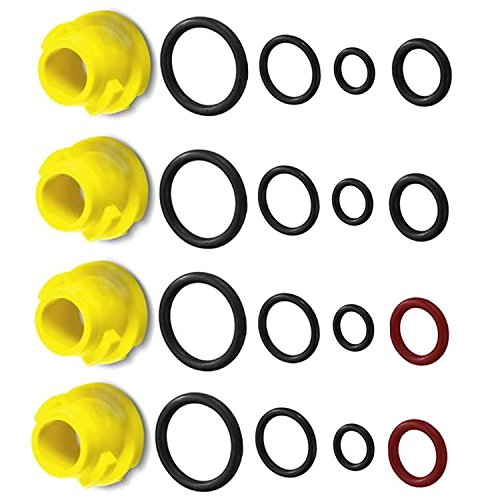 Spares2go O-Ring-Düse für Kärcher K1 K2 K3 K4 K5 K6 K7 T250 T-Racer Hochdruckreiniger