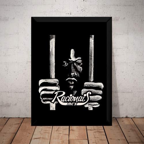 Quadro Decorativo Rap Racionais Mc's Hip Hop Arte