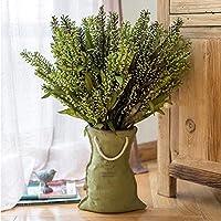 ポケットヴィンテージ花瓶植物コンテナ収納バスケット多肉植物屋内バルコニーフラワーバーラップポケットテリー花瓶フラワーバスケット、28.5cm