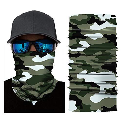 Face Mask,MMLC Fishing Face Shields Multifunktionstuch Maske Clown Halstuch Halloween Kostüme Motorrad Ski Jagen Fahrrad (B)