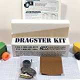 Basswood Co2 Dragster Car Kit LSRAV/Metric - STEM Project Kit for Building and Racing Co2 Powered Car - Get Hands-On & Create a DIY Dragster - Great Activity for Student Classrooms and Homeschooling