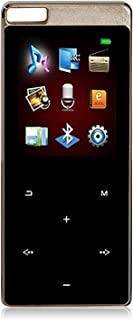 Built in Speaker 16GB Bluetooth 5.0 MP3 Player, Hifi Music Player with Bluetooth Touch Button,1.8Inch Screen FM Radio,16g