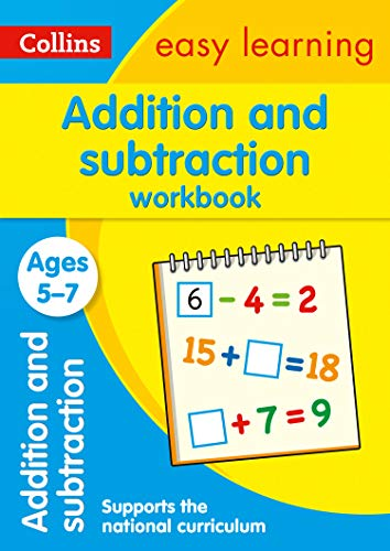 Addition and Subtraction Workbook Ages 5-7: Prepare for school with easy home learning (Collins Easy Learning KS1)