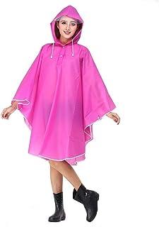 RYY Raincoats Raincoat, Transparent Tide Brand Raincoat Adult Walking Student Full Body Men's Travel Poncho (Color : Green)