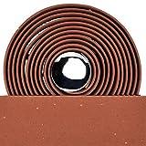 Velo–Prox Drop Bar Wrap corcho cinta de manillar de bicicleta fixed Gear Fixie–Bicicleta de carretera, Prox, marrón