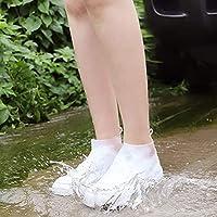 【Rutschfeste Sohle】Hergestellt aus hochwertigem ungiftigem Silikongummi. Es ist auch mit einer rutschfesten Sohle ausgestattet, um ein Abrutschen zu verhindern. 【Wasserdicht】Vermeiden Sie an Regentagen, Schneematsch und Schneetagen nasse Schuhe und F...