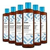 Amazon Brand - Solimo Therapeutic Dandruff Shampoo, Original Strength, 8.5 Fluid Ounce (Pack of 6)