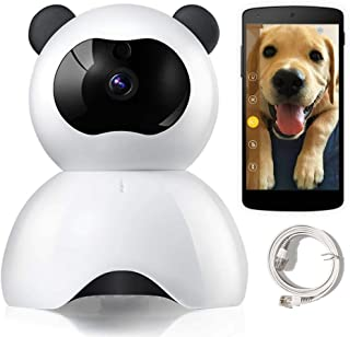 LEMFO Dog Camera, 1080P Full HD Pet Camera, Pet Cameras That Connect with iPhone Android Dog Camera with Phone App WiFi IP Camera with Two Way Audio, Night Vision, Motion Detection Alert