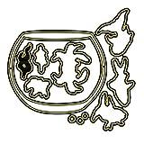 Metallschablonen, Stanzformen mit Blume, Scrapbooking, Kartenschnitt, Aquarium-Stanzschablone +...