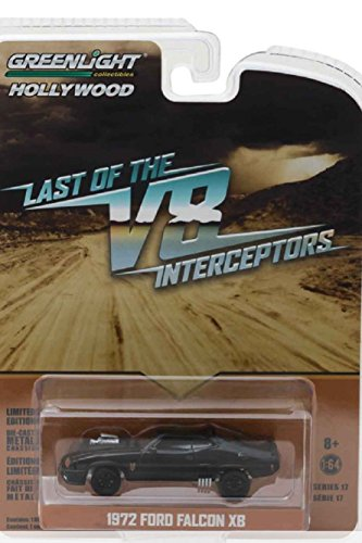 1972 Ford Falcon XB Last of the V8 Interceptors MAD MAX Film Auto - Greenlight 1:64