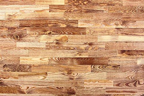 wodewa Holz Wandverkleidung Vintage Optik 1m² Nachhaltige Echtholz Wandpaneele Moderne Wanddekoration Holzverkleidung Holzwand Wohnzimmer Küche Schlafzimmer V002