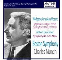 ミュンシュ指揮ボストン響 モーツァルト ブルックナー (Charles Munch - Mozart, Bruckner)